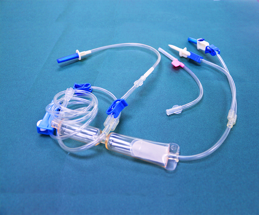 输血器 无菌输液延长管 臭氧治疗仪耗材 血袋